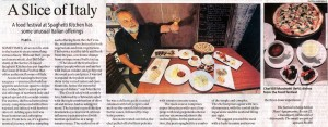 Spaghetti Kitchen, Indian Express, July 11 2013