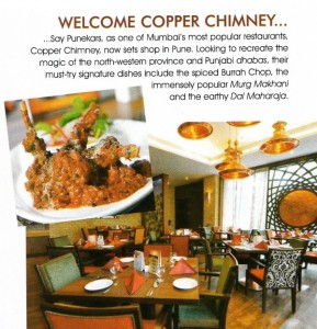Copper Chimney, New Women, November 2012 edition, Pg 115