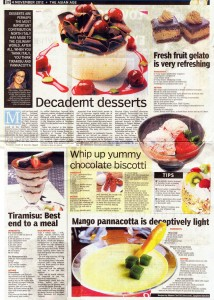 Spaghetti Kitchen, Asian Age, November 4 2012, Pg 39