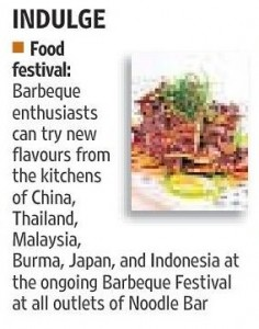 Noodle Bar, Hindustan Times Cafe